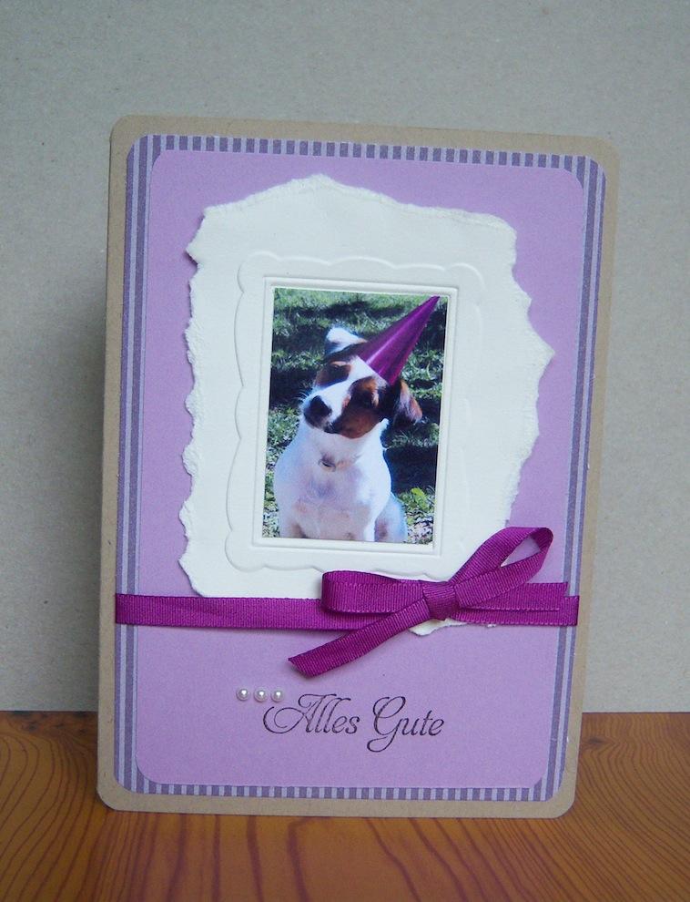 Geburtstag - Geburtstagskarte Bilderrahmen Foto