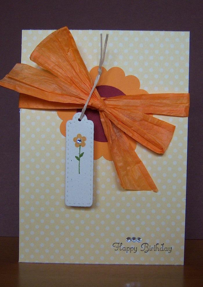 Geburtstag - Geburtstagskarte Bluete