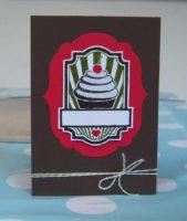 Geburtstagskarte Cremetoertchen