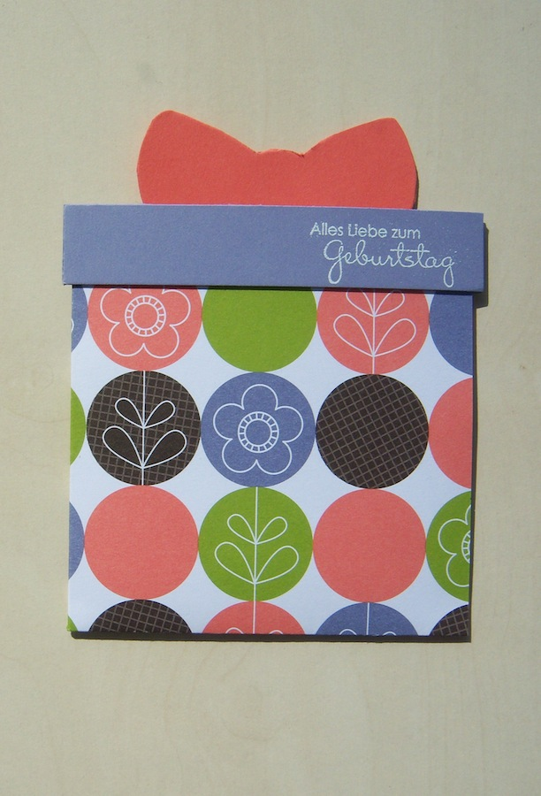 Geburtstag - Geburtstagskarte Geschenk 1