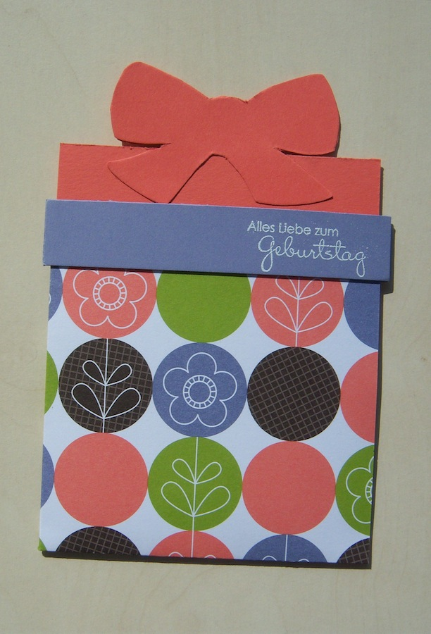 Geburtstagskarte Geschenk 2