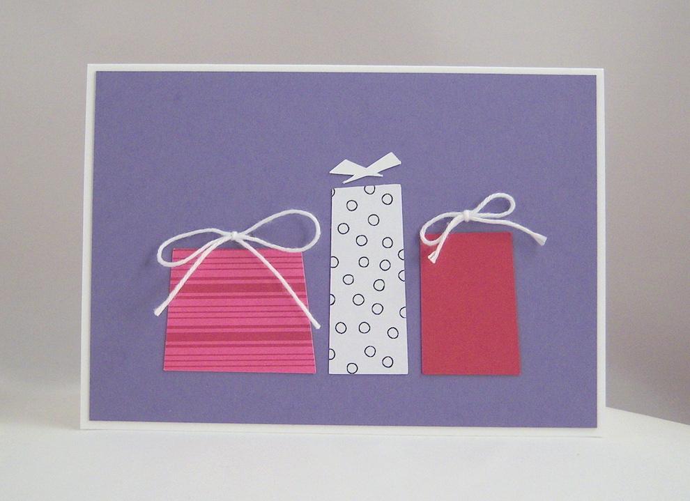 Geburtstagskarte Geschenke