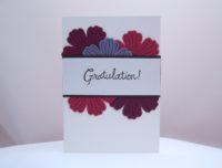 Geburtstagskarte Gratulation Blumen