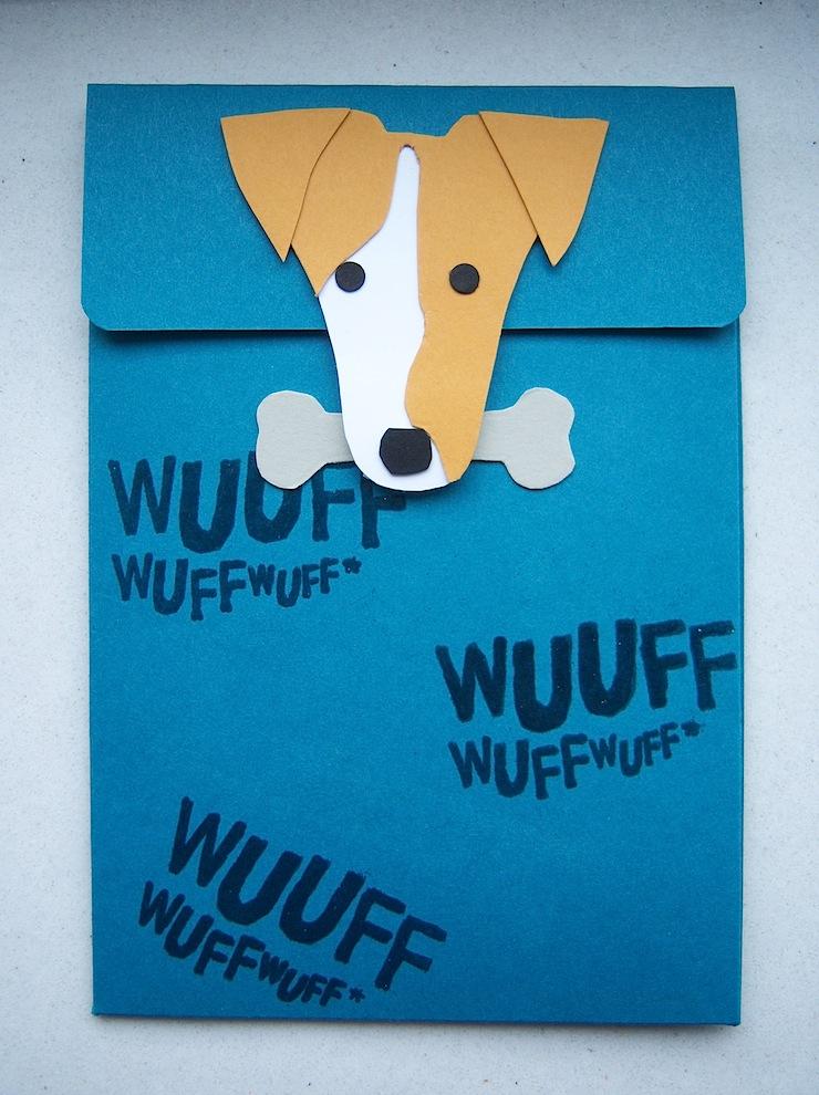 Geburtstag - Geburtstagskarte Hund 1