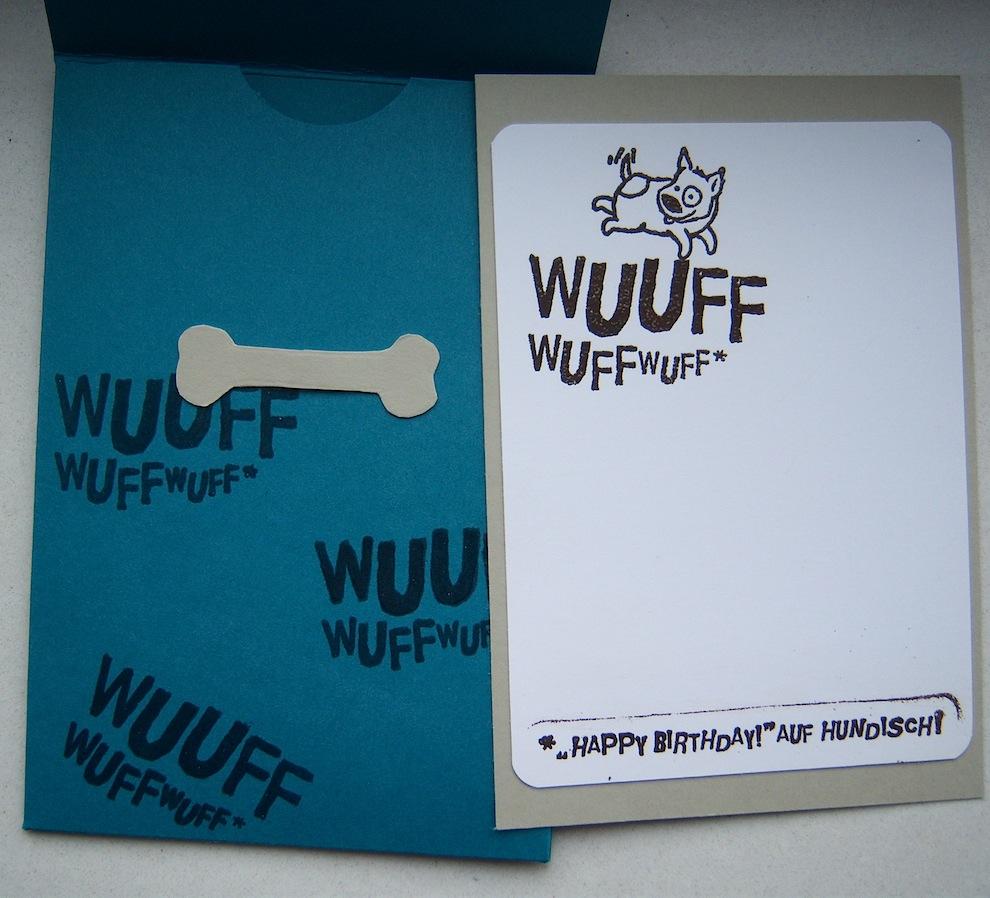 Geburtstagskarte Hund 2