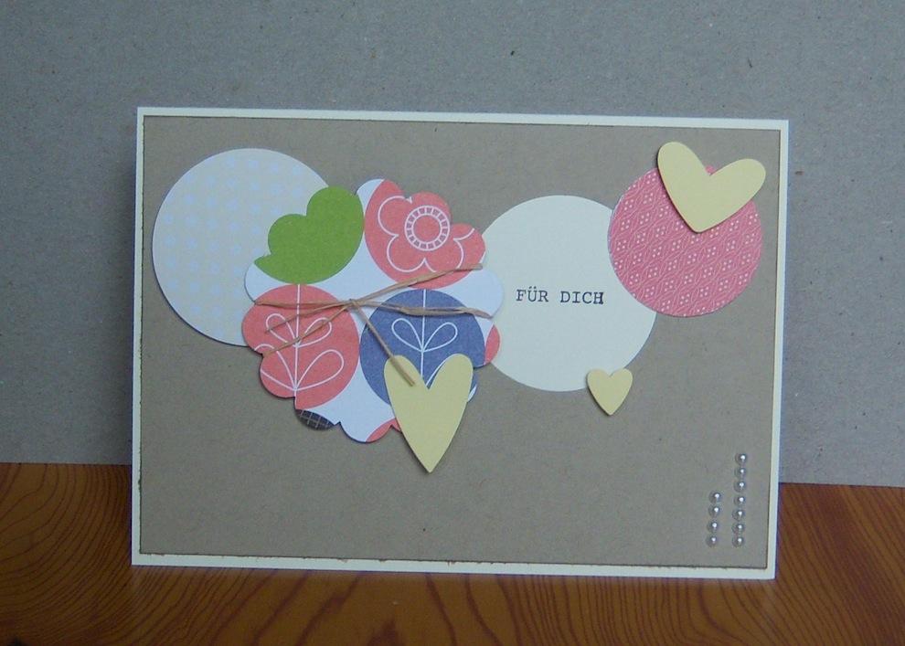 Geburtstag - Geburtstagskarte Kreise Fuer Dich