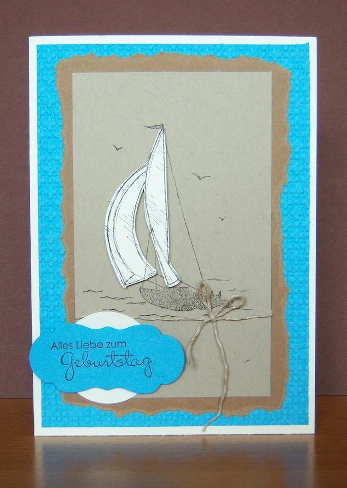Geburtstag - Geburtstagskarte Schiff