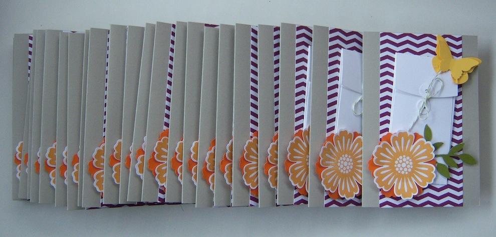 Geburtstag - Geburtstagskarte Tasche Sommer
