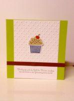 Geburtstagskarte Toertchen gruen schlicht
