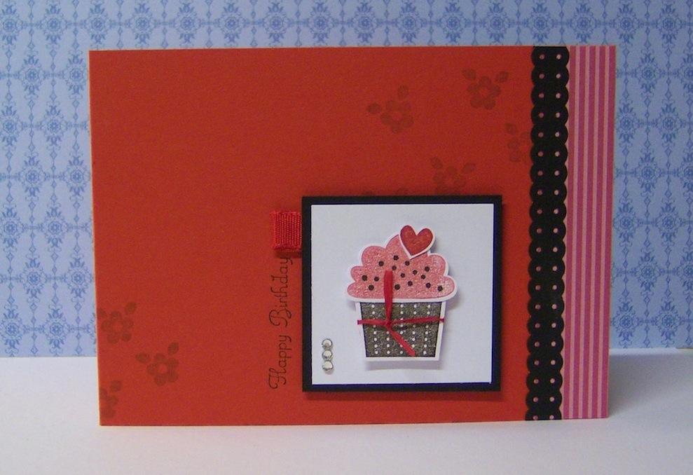 Geburtstag - Geburtstagskarte Toertchen rot