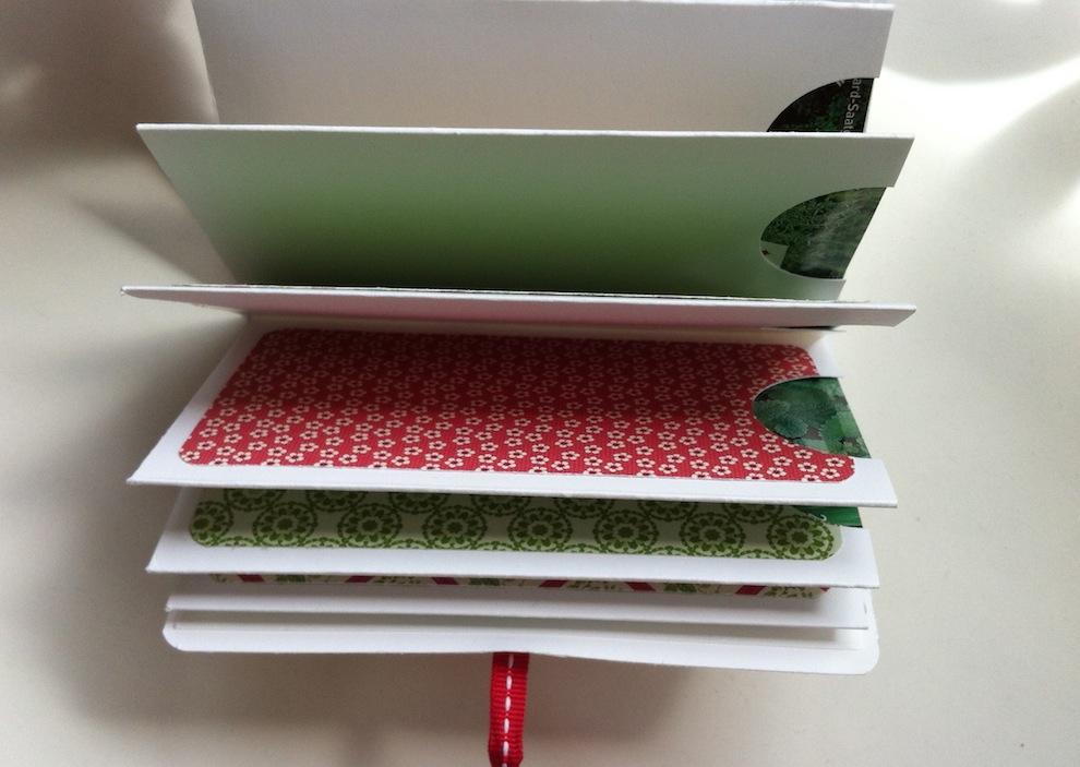 Geburtstagskarte Verpackung Buch Blumen 4