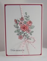 Geburtstagskarte Von Herzen Blumen