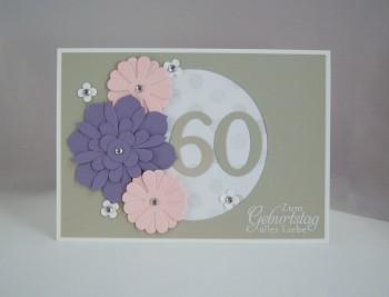 Geburtstagskarte_zum_60._Blumen