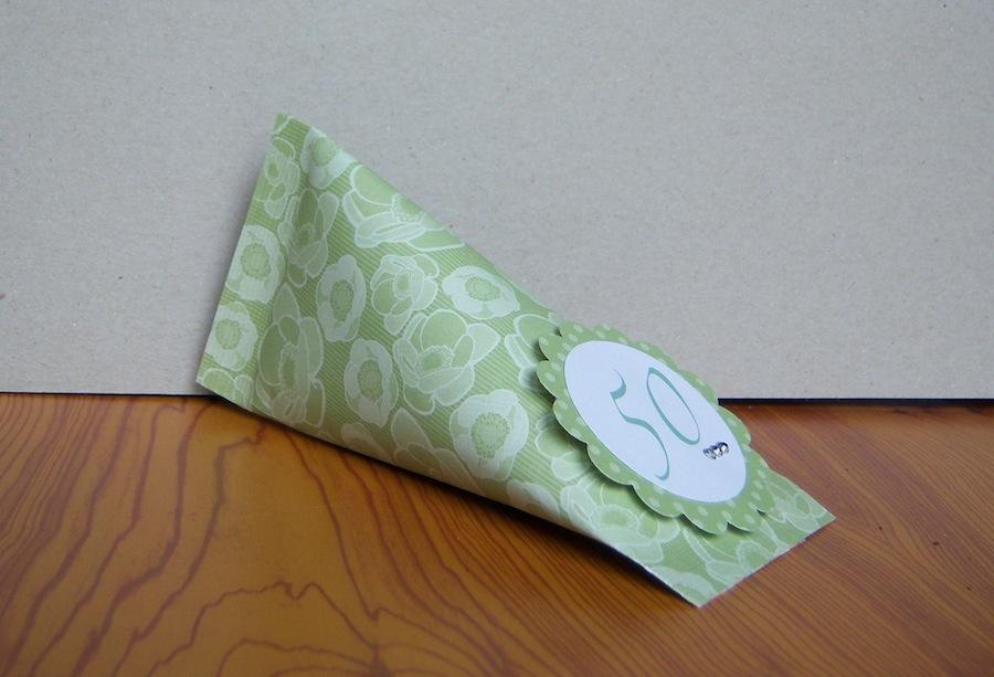 Geburtstag, Verpackungen - Geburtstagsverpackung Tube 1