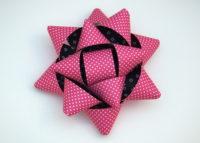 Geschenkschleife pink 13cm