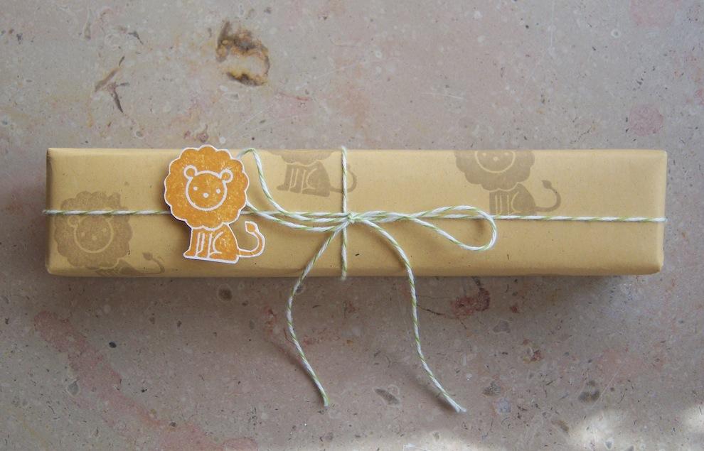 Geschenkverpackung Loewe