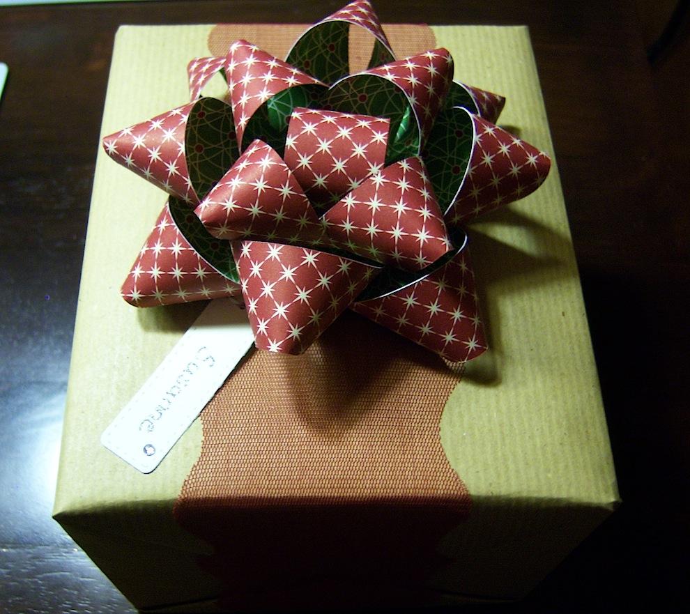 Geschenkverpackung Weihnachten 2