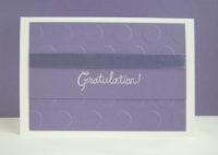 Gratulationskarte Kreise