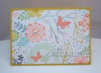 Grußkarte Blumenwiese