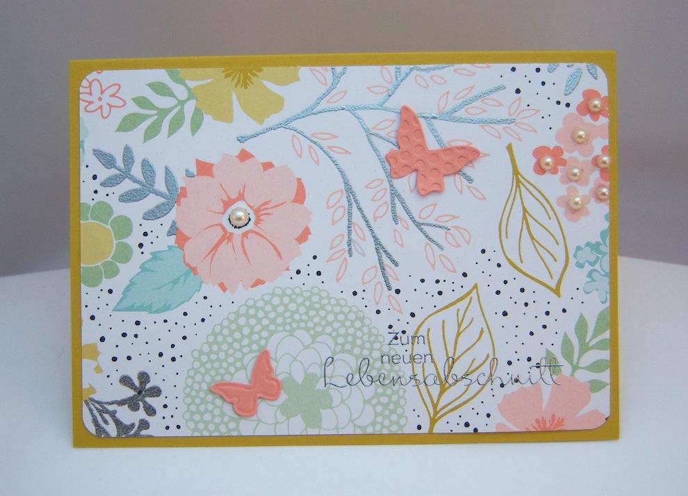 Sonstiges - Grußkarte Blumenwiese