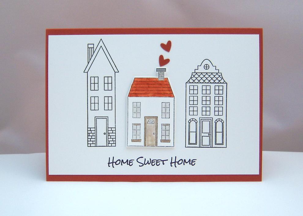 Sonstiges - Karte zum Einzug HomeSweetHome