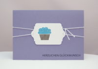 Karte zum Geburtstag Cupcake_1