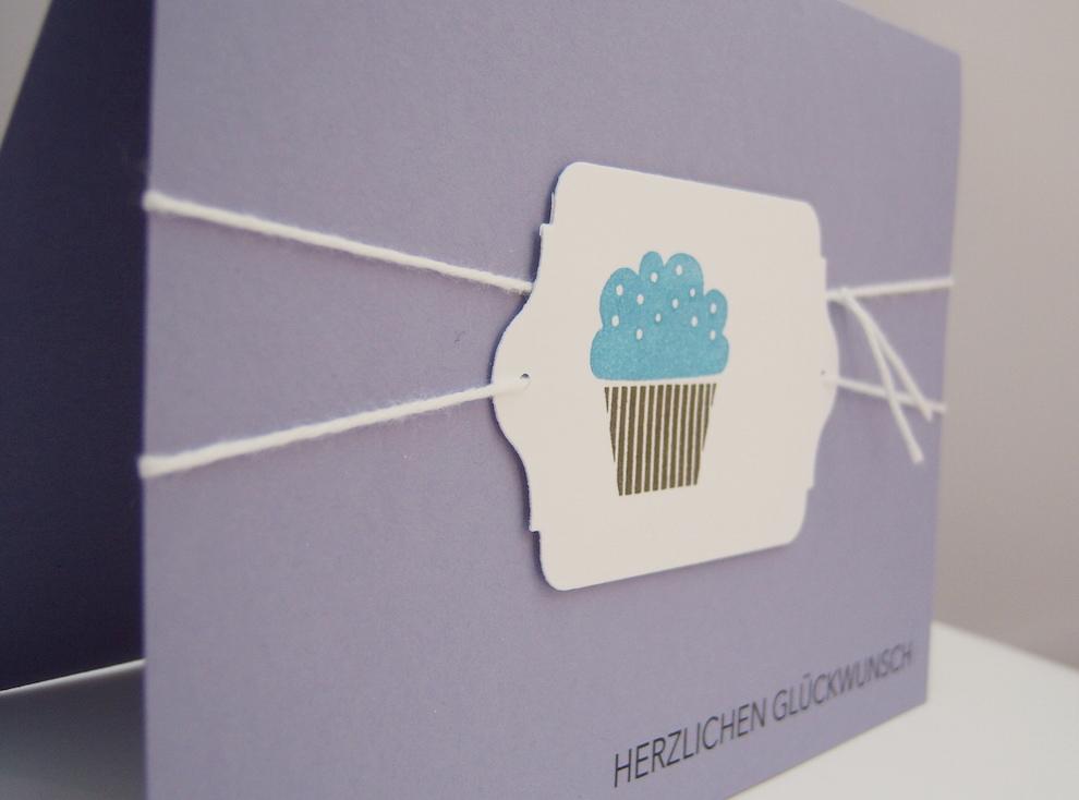 Karte zum Geburtstag Cupcake_2