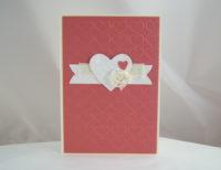 Karte zum Valentinstag Herzen 1