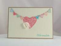Karte zum Valentinstag Von Herzen
