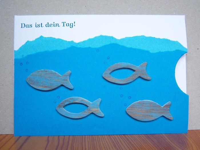 Konfirmation - Karte zur Konfirmation/Kommunion Das ist deinTag Fische