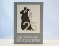 Karte zur Silbernen Hochzeit Unvergessliche Momente