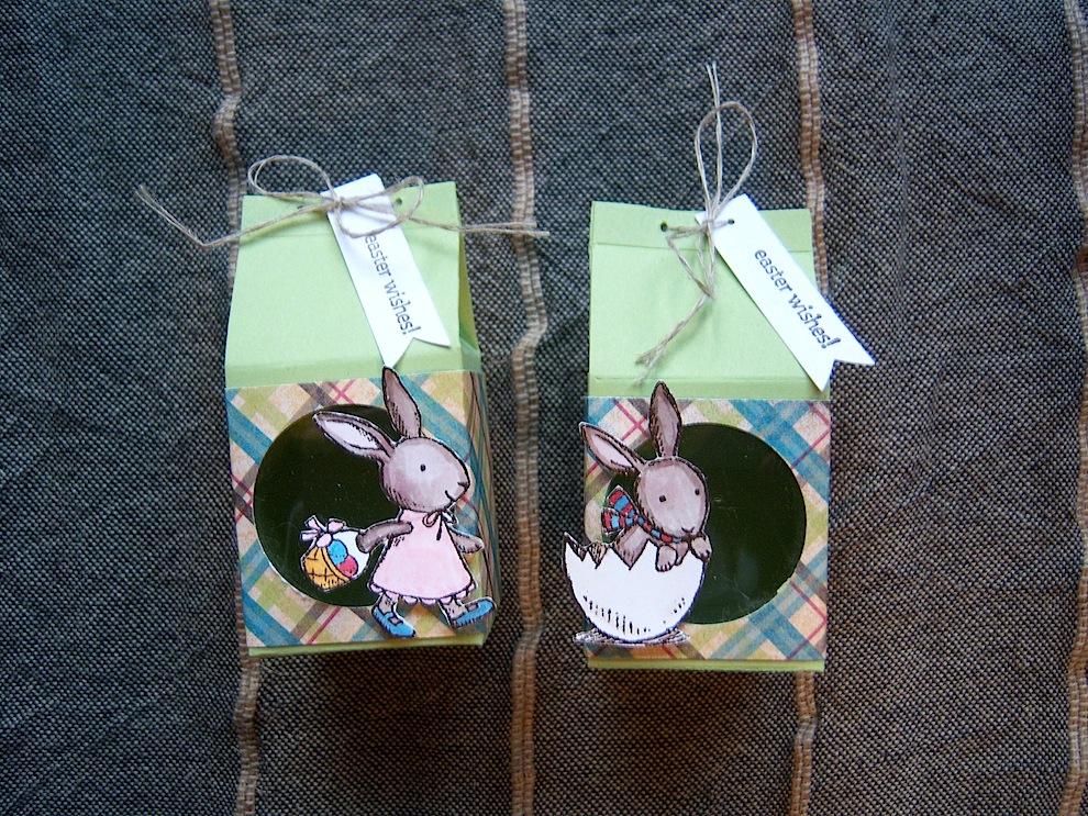 Ostern, Verpackungen - Osterverpackung mit Sichtfenster 1