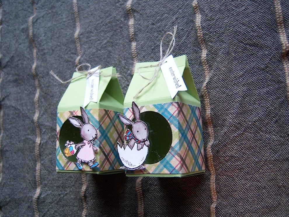 Osterverpackung mit Sichtfenster 2