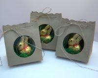 Osterverpackung mit Sichtfenster schlicht