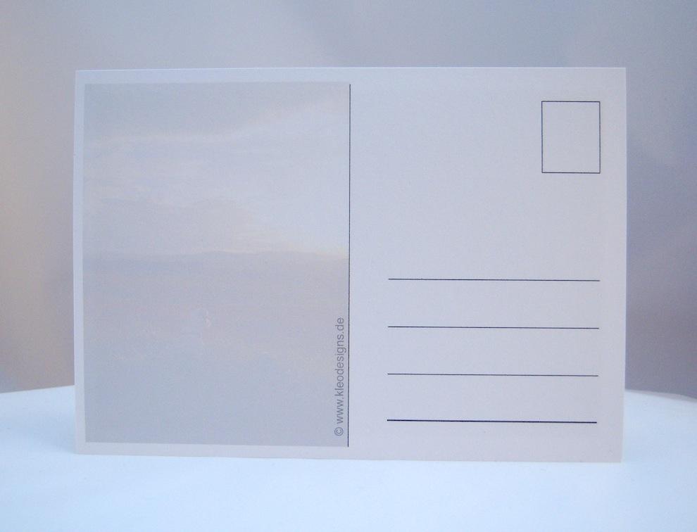 Postkarte Blick in die Ferne 2