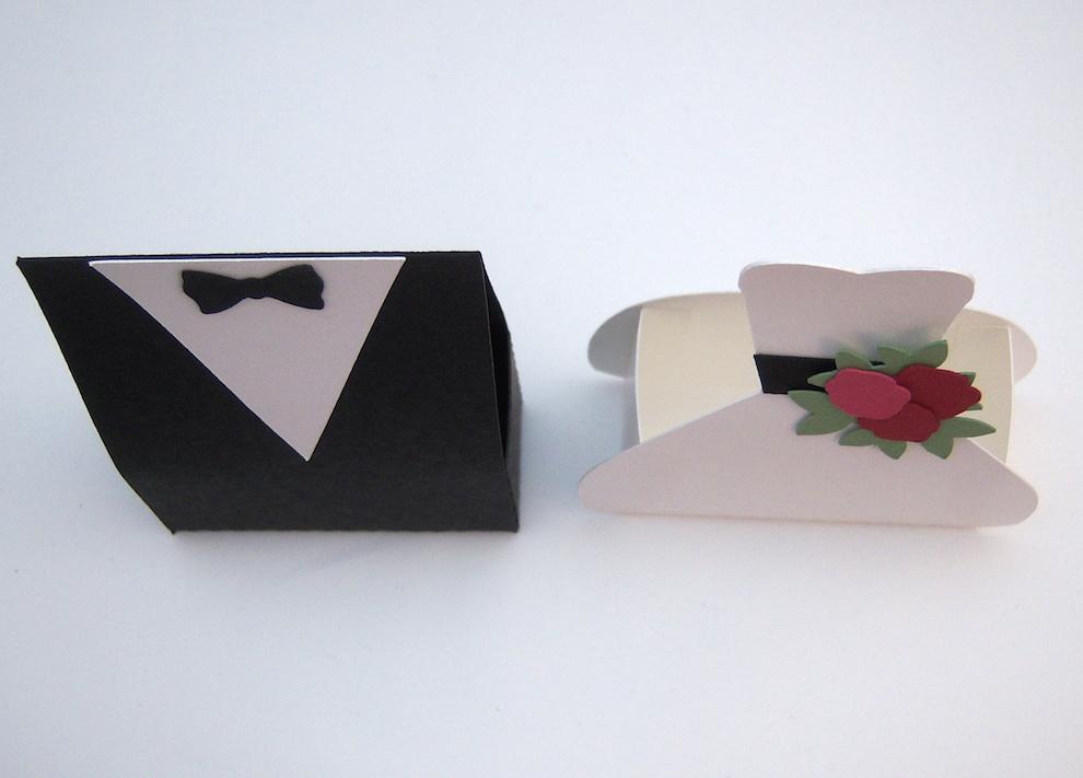 Verpackung Brautkleid und Anzug_2