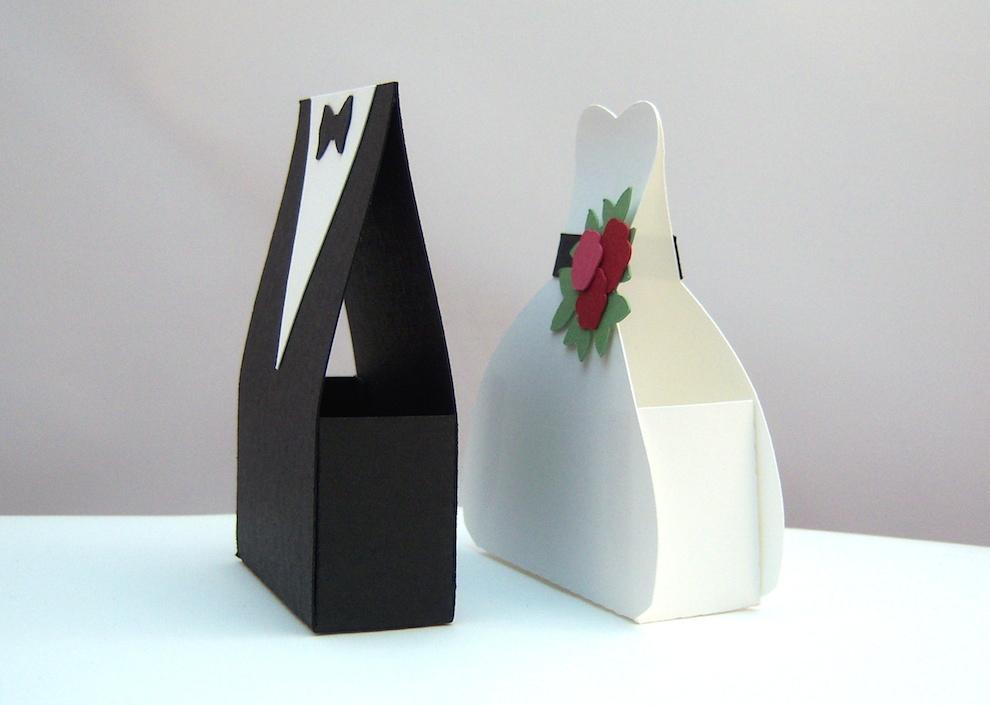 Verpackung Brautkleid und Anzug_3