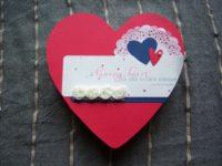Verpackung zum Valentinstag Herz 1
