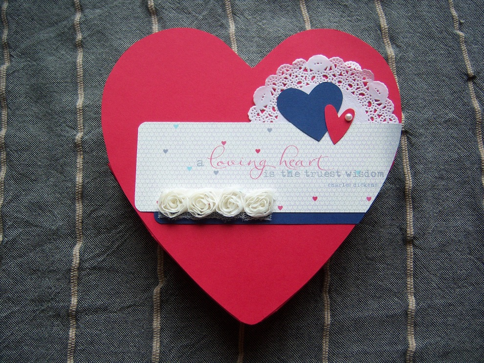 Valentinstag, Verpackungen - Verpackung zum Valentinstag Herz 1