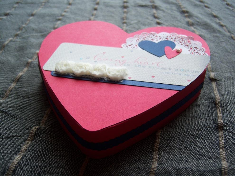 Verpackung zum Valentinstag Herz 2