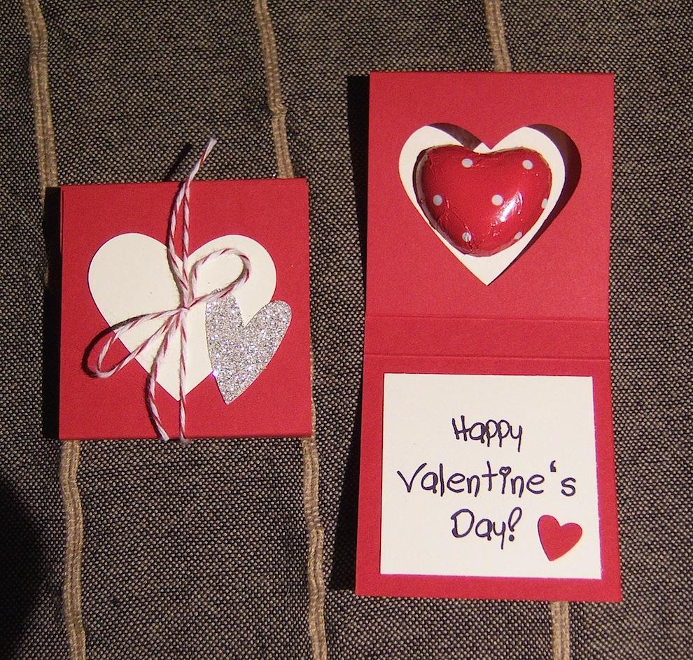 Valentinstag, Verpackungen - Verpackung zum Valentinstag rot