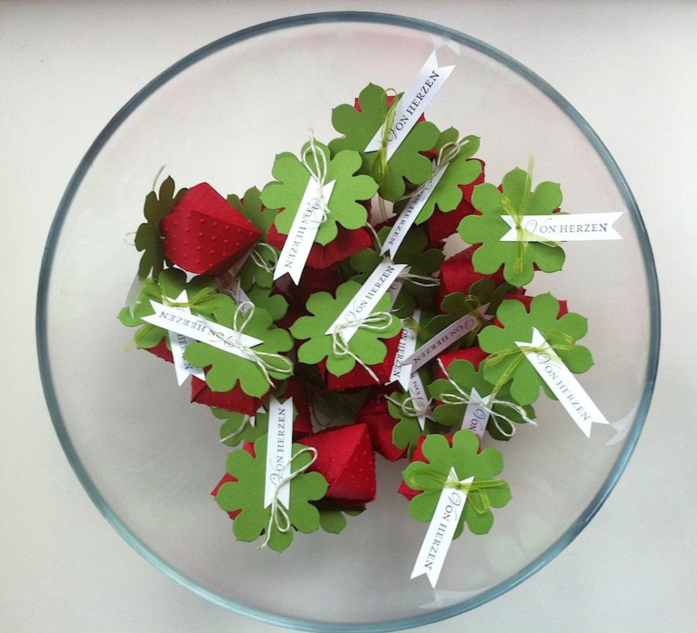 Sonstiges, Verpackungen - Verpackungen Erdbeere Von Herzen 1
