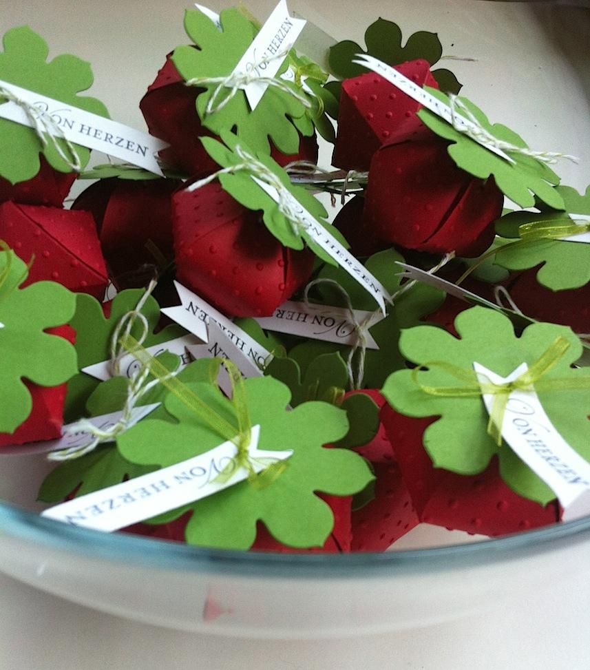 Verpackungen Erdbeere Von Herzen 2