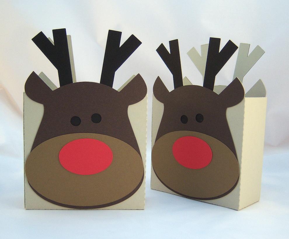 Weihnachten, Verpackungen - Weihnachten Verpackung Rentier