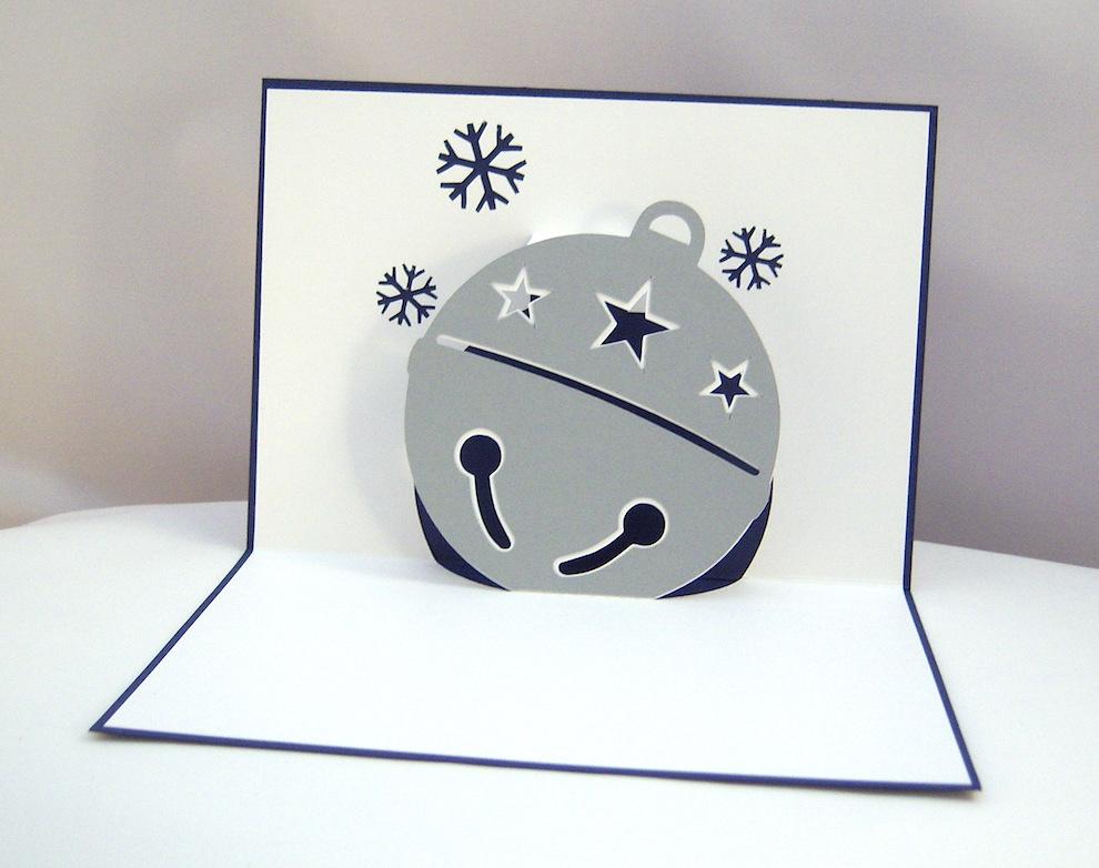 Weihnachten - Weihnachtskarte Glöckchen