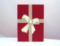 Weihnachtskarte Schleife_1