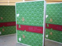 Weihnachtskarte kleine Weihnachtsbaeumchen 1